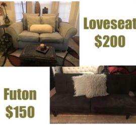 Loveseat Or futon for Sale in Smyrna,  GA