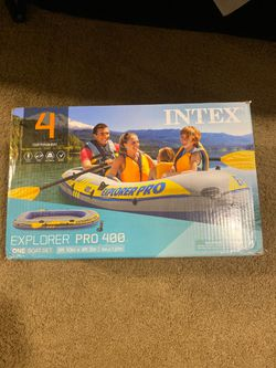 Brand New Inflatable Four Person Boat Set for Sale in Springfield,  VA