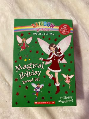 rainbow magic special holiday boxed series for Sale in Franklin, MA