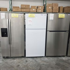 New TOP Mount Refrigerator FACTORY WARRANTY for Sale in Ontario, CA