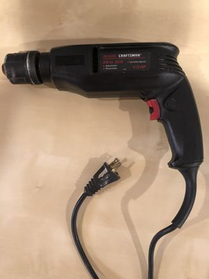 "Craftsman 3/8"" Variable Speed Electric Drill for Sale in Lemont, IL"