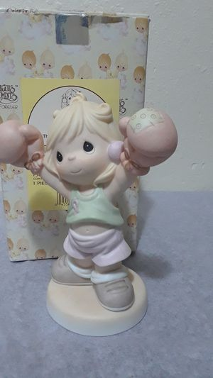 "Precious Moments ""Life is worth fighting for "" figurine for Sale in Tampa, FL"