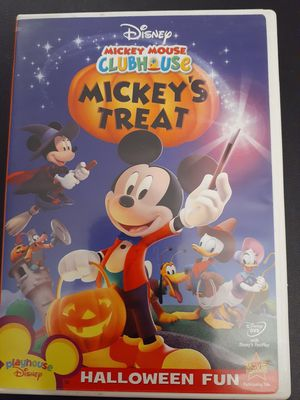 Disney MICKEY MOUSE CLUBHOUSE MICKEY'S TREAT (DVD) for Sale in Lewisville, TX