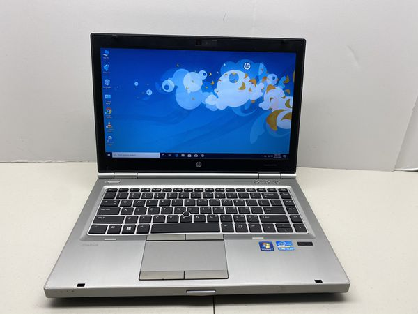 HP Elitebook 8470p, Intel Core i5, 2.60 GHz, 4 GB RAM, 250 GB Hard Drive, 2.00 GB Intel HD Graphics Card, Wireless Wifi, Webcam, Fingerprint Reader,