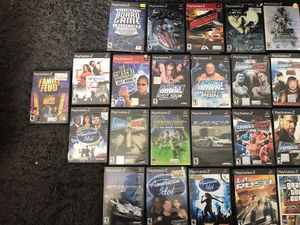PS2 System (SOLD) and Games (bundle or separate) (WWE games, already SOLD) for Sale in Denver, CO