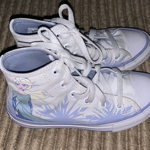 Toddlers Girls Converse All Star Chuck Taylor High top Tennis Shoes Sneakers Size 12 for Sale in Alpine, CA