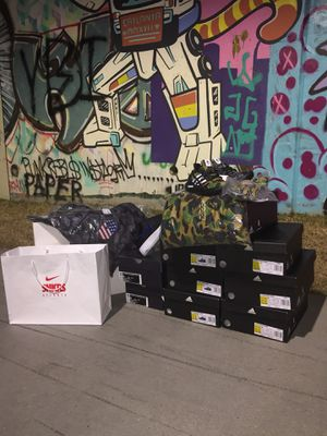 Bape adidas ultra boost and bape adidas Super Bowl Hoodie for Sale in Temple Terrace, FL