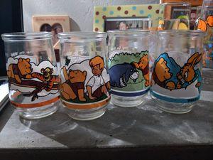 Vintage Glassware. Disney, Pooh, Warner Bros, Flintstones, ET, Smurfs. for Sale in Tempe, AZ