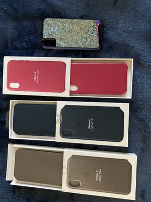Brand new iPhone X/XS cases for Sale in West Springfield, MA