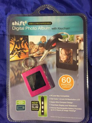 Shift digital photo album keychain for Sale in Yorktown Heights, NY
