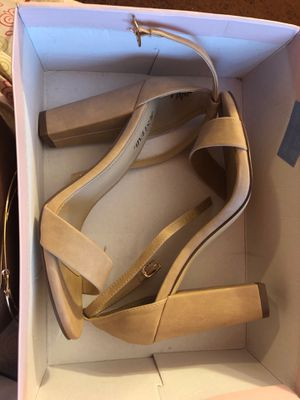 JustFab Open Toe Strap Heels for Sale in Hanover, MD