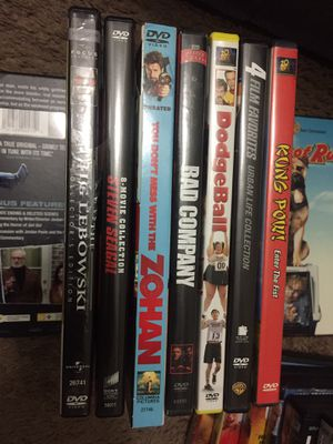 Used DVD movies All for one price for Sale in Norfolk, VA