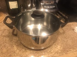 Stainless Steel Stock Pot and Pan w/Lid for Sale in El Cajon, CA