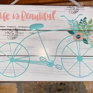 """Life Is Beautiful"" Sign for Sale in Bradenton, FL"