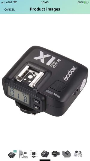 Godox X1R-N TTL 2.4G Wireless Flash Trigger Receiver for Nikon DSLR Camera for X1N Trigger for Sale in San Leandro, CA