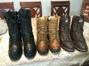 Size 11.5 Work Boots for Sale in Stockton, CA