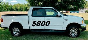 $800 🔥Non Smoker🔥 2002 ford f150 runs and drives 4X4 for Sale in Rochester, MN