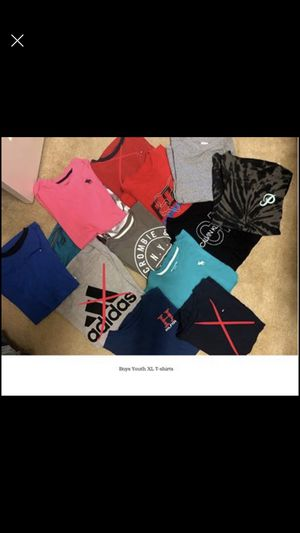 Youth Boys Jeans, Shirts and light jackets for Sale in Buda, TX