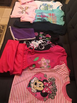 Size 5 kids clothing. Healthex, Trolls,Disney, More for Sale in City of Industry, CA