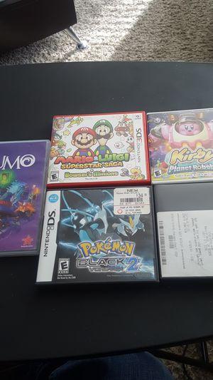 Pokemon, mario, kirby n lumo games for Sale in Santa Clarita, CA