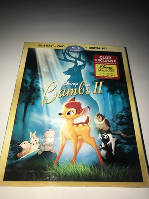 Disney's Bambi 2 Blu-ray DVD Digital Copy brand new for Sale in Corona, CA