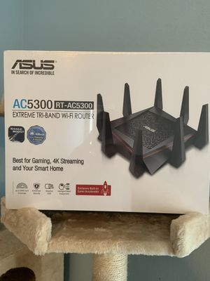 ASUS AC5300 Tri Band Router Brand New Sealed In Box for Sale in Poinciana, FL
