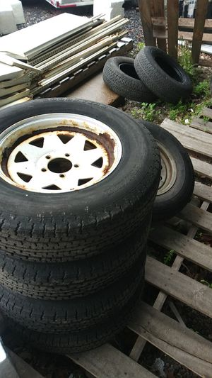 Trailer brakes,drums,tires,all sizes. Lites too. for Sale in Pembroke, MA