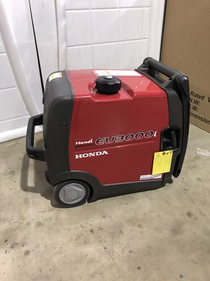 Honda EU3000i inverter generator super quiet handi portable generator new for Sale in Lancaster, PA