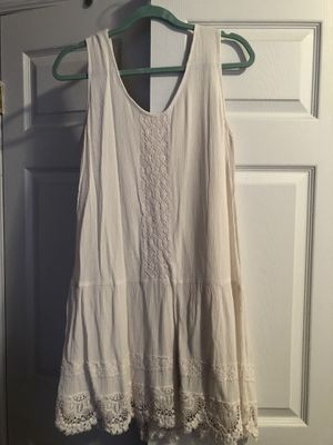 White tank top dress for Sale in Brooklyn, NY