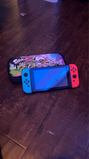 Nintendo switch with case and games for Sale in Redlands, CA