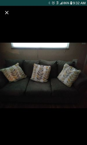 Green couch (without the pillows) for Sale in St. Louis, MO