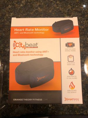 OT beat orange theory heart rate monitor NEW for Sale in Dublin, OH