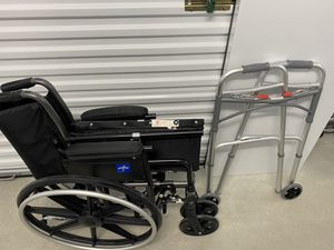 Wheel chair and walker for Sale in San Antonio, TX