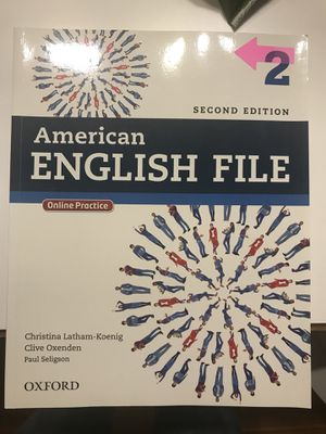 American English File (second edition) for Sale in Brookline, MA