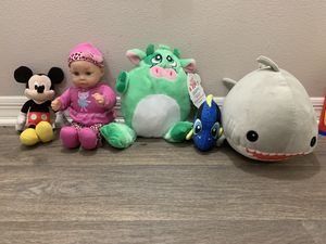Baby soft toys for Sale in Palm Beach Gardens, FL