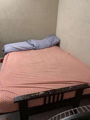 Futon bed with mattress for Sale in Santa Clara, CA