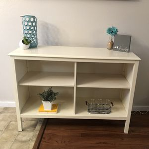 Threshold Bookcase TV stand Console for Sale in Tigard, OR