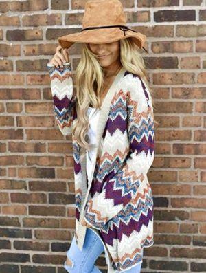 New women's size Small/Medium multi colored cardigan for Sale in Seminole, FL