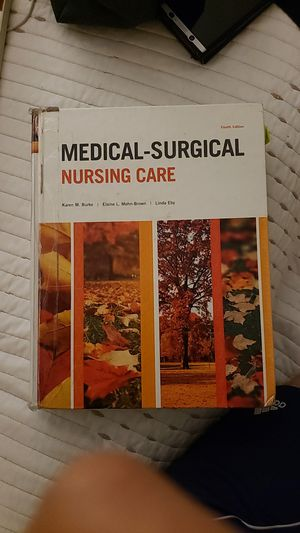ISBN 0-13-338978-2 Medical-surgical Nursing Care 4th Edition for Sale in Plano, TX