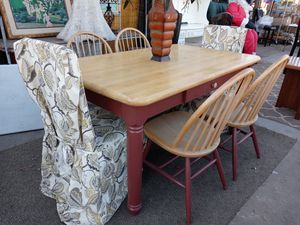 Farmhouse dining table for Sale in Berenda, CA