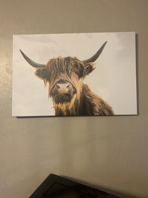 Cow painting picture for Sale in Winter Haven, FL