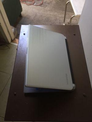 Thin laptop Toshiba satellite i5 touch screen 1TB hardrive 8gb ram come with charger like new for Sale in Garden Grove, CA