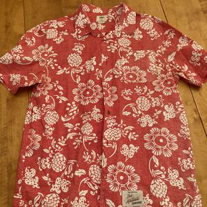 Vans Orange Hawaiian Shirt. for Sale in Smyrna, GA