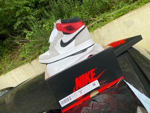 Jordan 1 Light Grey Size 9.5 for Sale in Clinton, MD