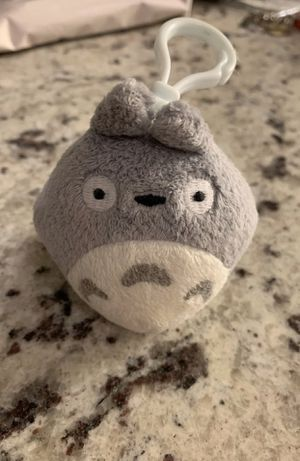 Studio ghibli totoro plush plushie keychain toy for Sale in Silver Spring, MD