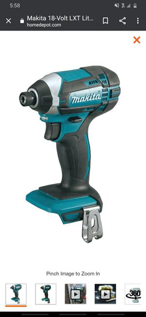 18v brushless impact gun high duty lithium battery retails 149.00 the gun never used retails 99.00 retails 99.00 all never used for Sale in Bellingham, WA