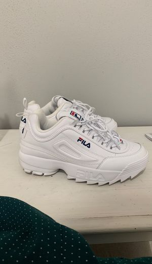 White fila for Sale in Portland, OR