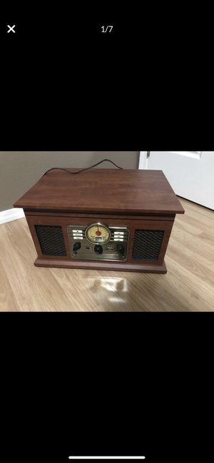 6-in-1 Vinyl Record player for Sale in Richland, WA