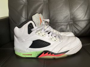 NIKE JORDAN 5 RETRO POISON GREEN 11.5 for Sale in Pembroke Pines, FL