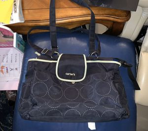Carter's Diaper Bag (black and green) for Sale in Lake Worth, FL
